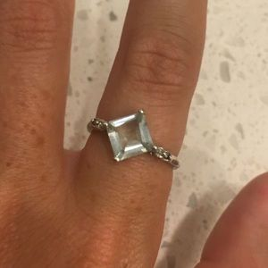 Jewelry - Size Seven Aqua Ring